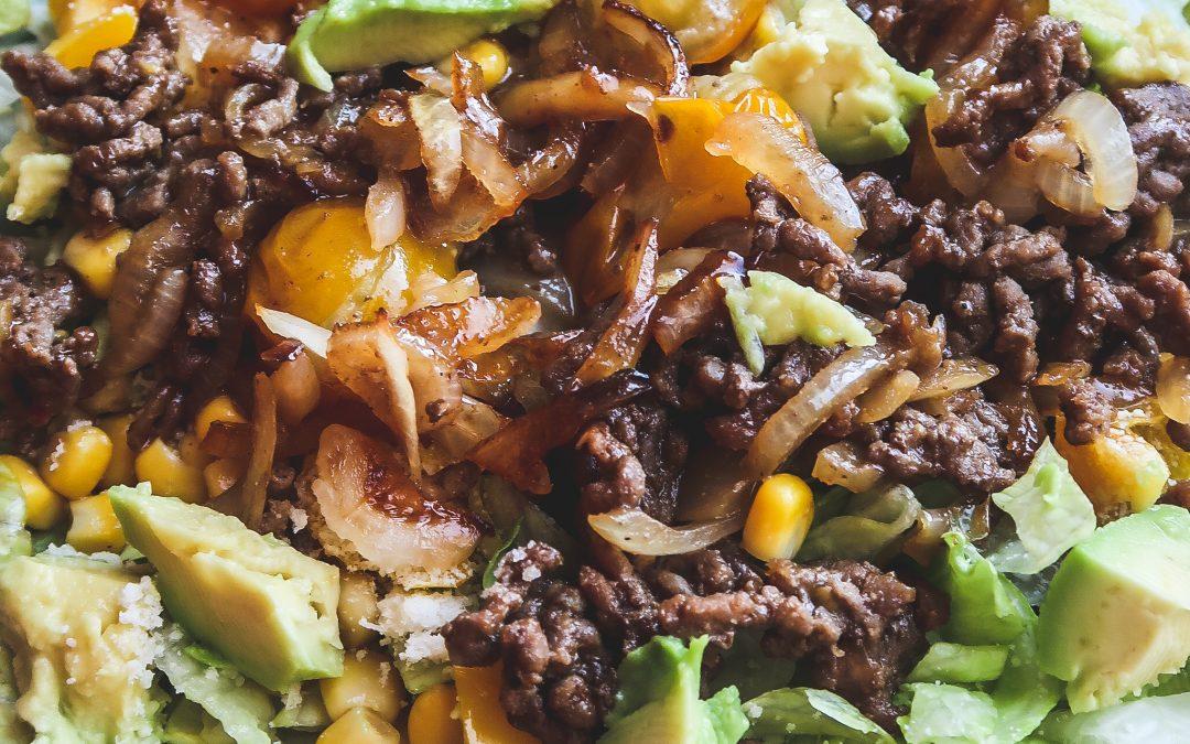 Mexicaanse Taco Salade